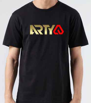 Arty Logo T-Shirt