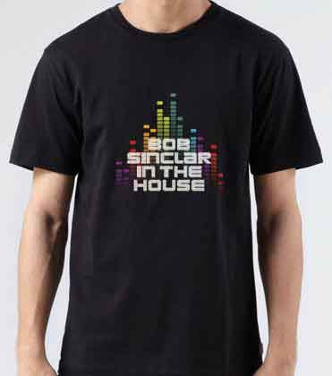 Bob Sinclar In The House T-Shirt