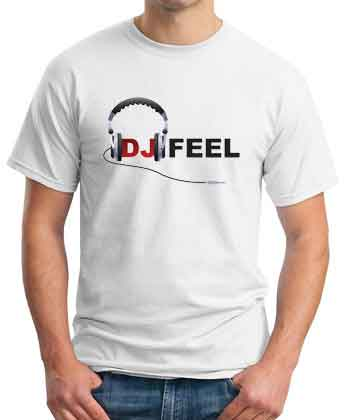 DJ Feel Logo T-Shirt