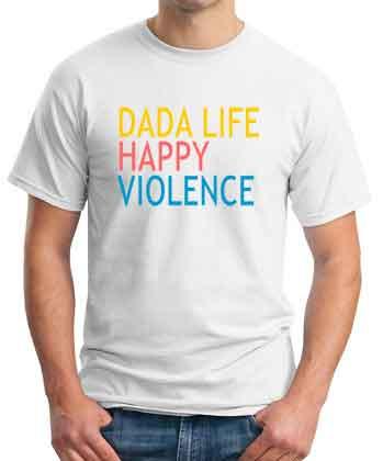 Dada Life T-Shirt Happy Violence
