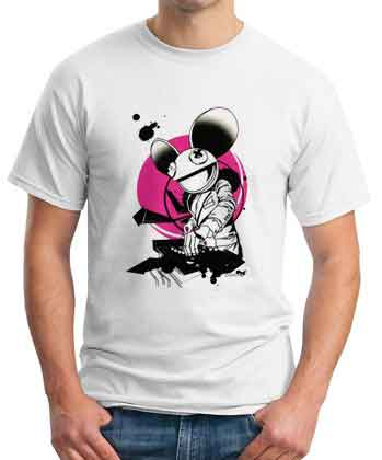 Deadmau5 Iconic Cartoon T-Shirt