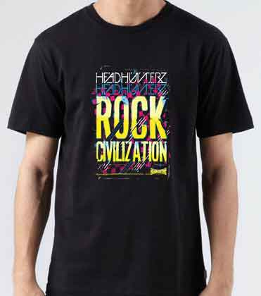 Headhunterz Rock Civilization T-Shirt