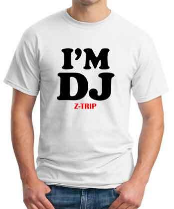I Am DJ Z-Trip T-Shirt