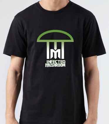 Infected Mushroom Logo T-Shirt