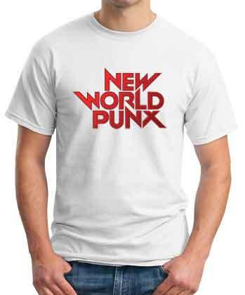 New World Punx Logo T-Shirt
