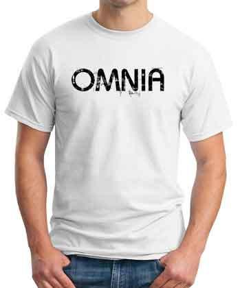 Omnia White T-Shirt