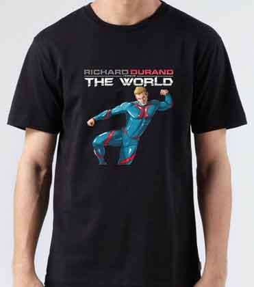 Richard Durand Vs The World Europe T-Shirt