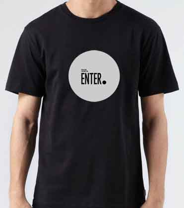 Richie Hawtin Enter T-Shirt