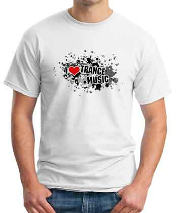 Roger Shah I Love Trance Music T-Shirt