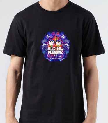 Wasted Penguinz Logo T-Shirt