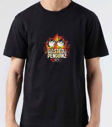 Wasted Penguinz T-Shirt