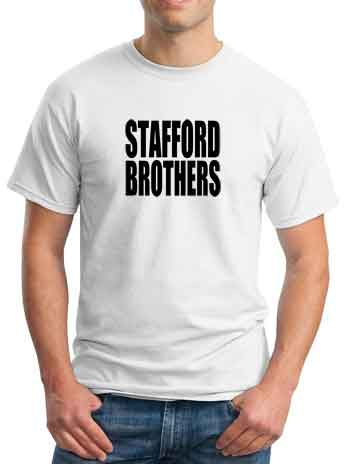 Stafford brothers t shirt dj t shirt for Stafford white short sleeve dress shirts