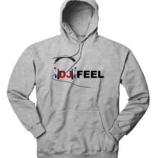 DJ Feel Logo Hoodie Sweatshirt