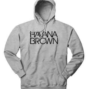 Havana Brown Hoodie Sweatshirt