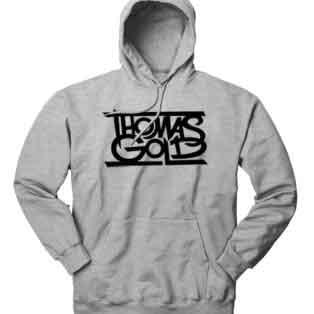 Thomas Gold Hoodie Sweatshirt