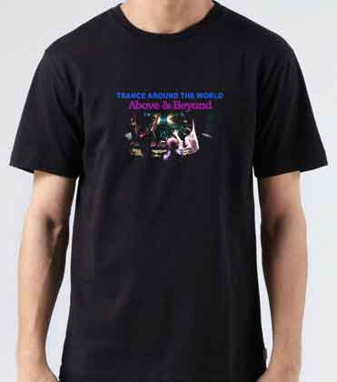 Above Beyond Trance Around-The World Concert T-Shirt