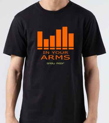 Andy Moor In Your Arms Black T-Shirt