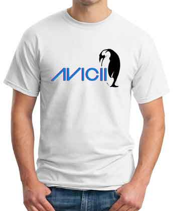 Avicii Penguin T-Shirt