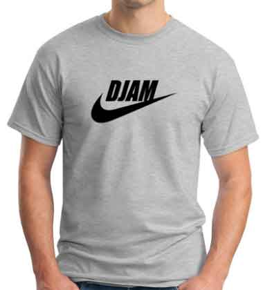 DJ AM Nike Logo T-Shirt
