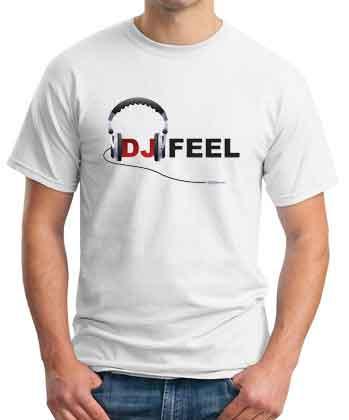 DJ Feel Logo T-Shirt