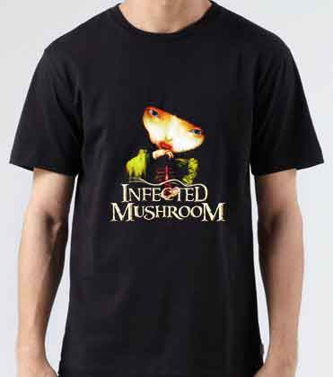 Infected Mushroom Vicious Delicious T-Shirt