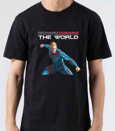 Richard Durand Vs The World Africa Middle East T-Shirt