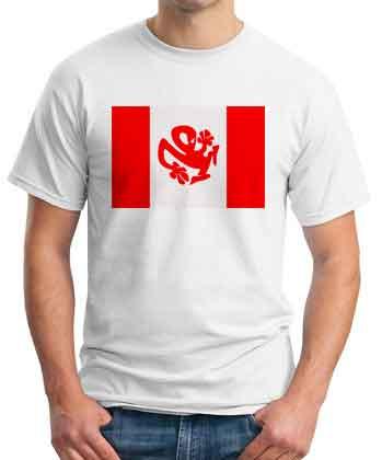 Richie Hawtin Plastikman Canada T-Shirt
