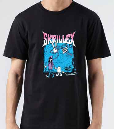 Skrillex Scary Monsters and Nice Sprites T-Shirt