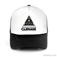 Carnage Logo Trucker Hat