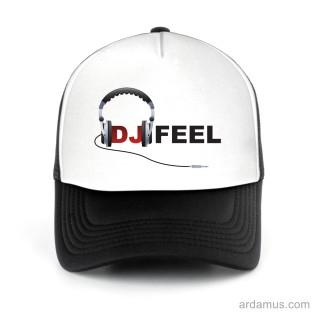 Dj Feel Logo Trucker Hat