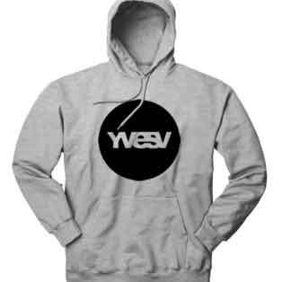 YVES V Logo Hoodie Sweatshirt